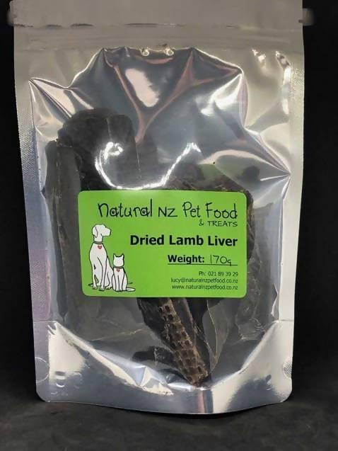 Dried Lamb Liver - madeinNZ.co.nz