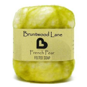 Felted Soap - French Pear - madeinNZ.co.nz
