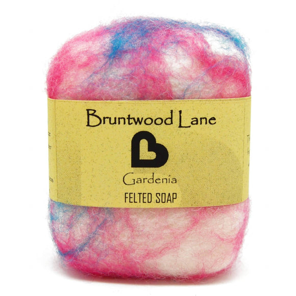 Gardenia Felted Soap by Bruntwood Lane