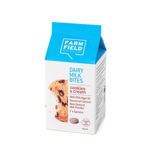 Farm Field Dairy Milk Bites - Cookies & Cream - 56g Net