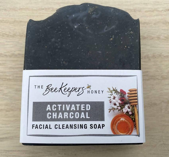 ACTIVATED CHARCOAL & MANUKA HONEY FACIALSOAP