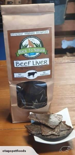 Back To Nature - Dried Liver Pet Treats - madeinNZ.co.nz
