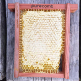 pure comb honey frame - free shipping