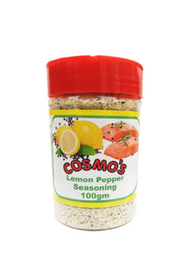 Cosmo's Lemon Pepper Seasoning Retail Shaker 100gm