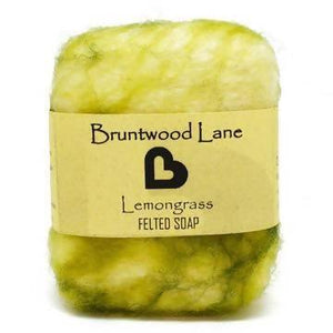 Felted Soap - Lemongrass