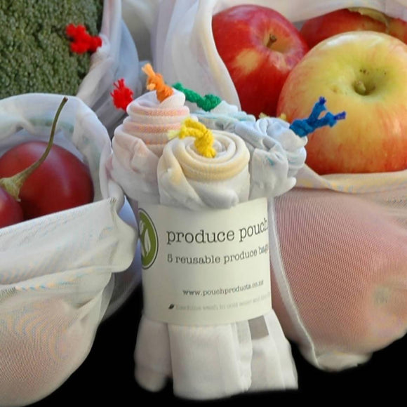 Produce Pouch – 5 pack - madeinNZ.co.nz