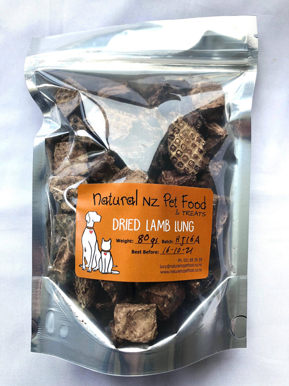 Dried Lamb Lung - madeinNZ.co.nz