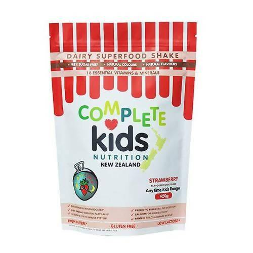 Anytime Kids Strawberry Pouch (420g) - madeinNZ.co.nz