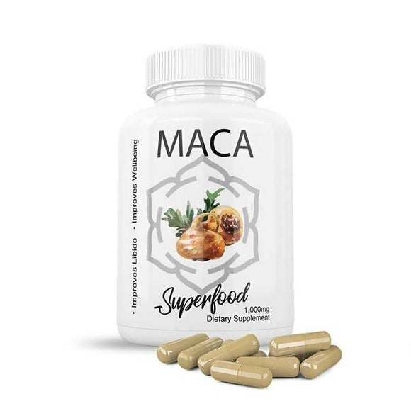 Maca 1,000mg - 90 Capsules - madeinNZ.co.nz