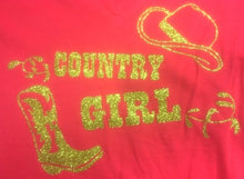 "Charger l'image dans la galerie, 22 - Tee-Shirt ""Country Girl"""