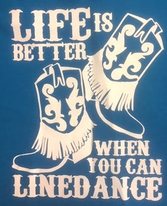 "21 - Tee-Shirt ""Life is better ..."""