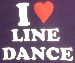 "33 - Tee-Shirt ""I love Line Dance"""