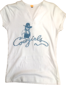 "12 - Tee-Shirt ""Cowgirls"""