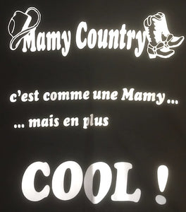 "5 - Tee-Shirt ""Mamy country"""
