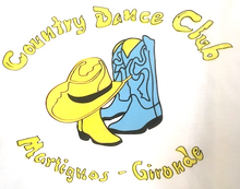 "Charger l'image dans la galerie, tee-Shirt ""Country dance Club"""