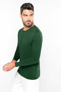 Tee-Shirt Homme col rond manches longues (K359)