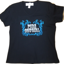 "Charger l'image dans la galerie, 29 - Tee-shirt ""Pure Cowgirl"""