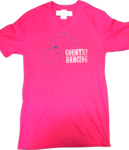 "Charger l'image dans la galerie, 3 - Tee-Shirt ""Country Dancing"""
