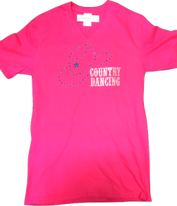 "3 - Tee-Shirt ""Country Dancing"""