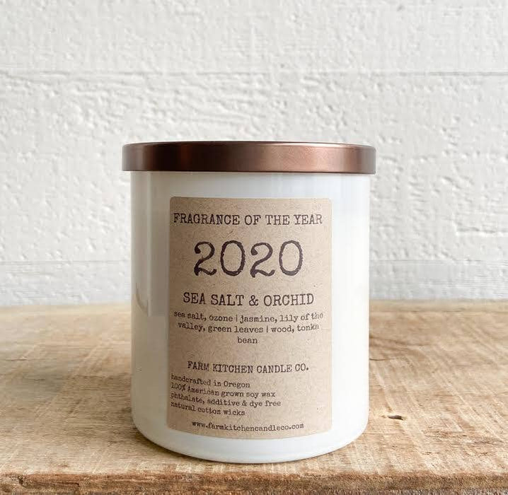 2020 Sea Salt & Orchid Soy Candle
