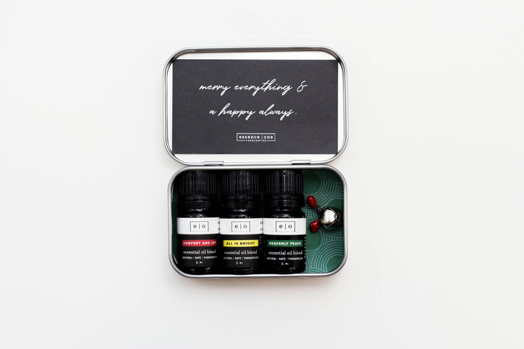 Holiday Essential Oil Collection Tin