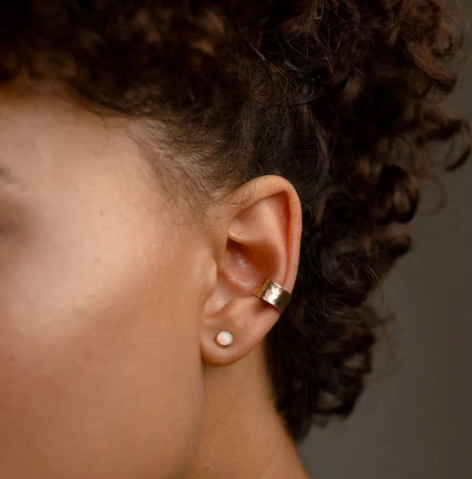 Hammered Ear Cuff