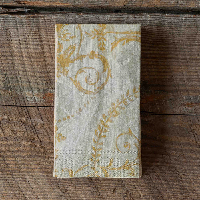 French Quarter Yellow Paper Napkins
