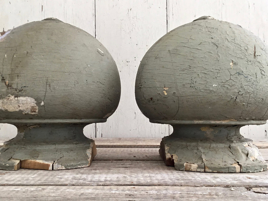 Antique Wood Finials Architectural Salvage