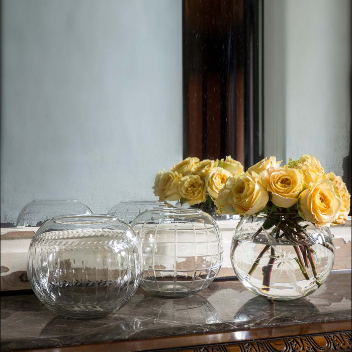 Southern Rose Bowl, Cut Glass