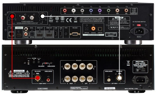 Preamp hook up