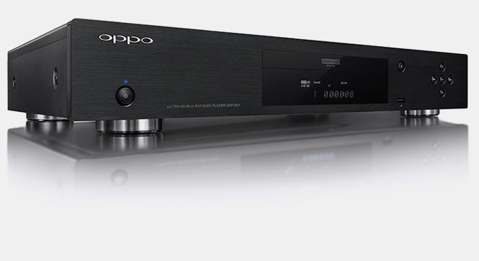 OPPO Digital Australia UDP-203 4K UHD Blu-ray Player Black Angle View