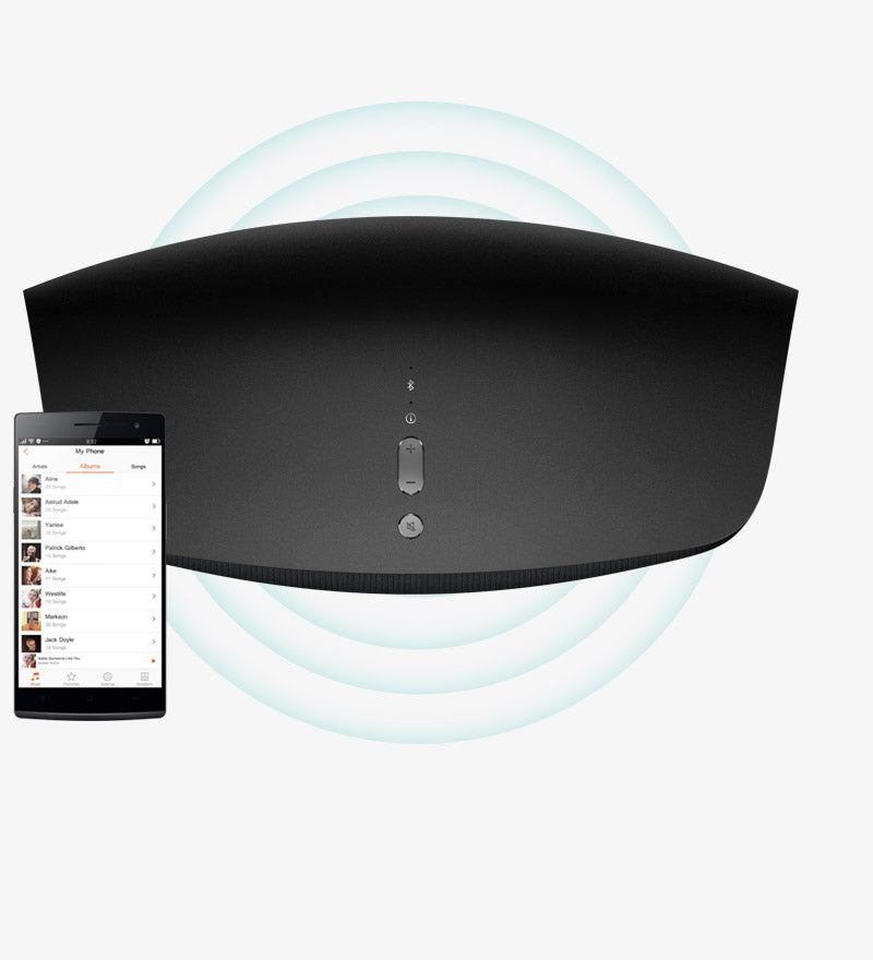 OPPO Digital Australia Sonica Wifi Speaker App Connection
