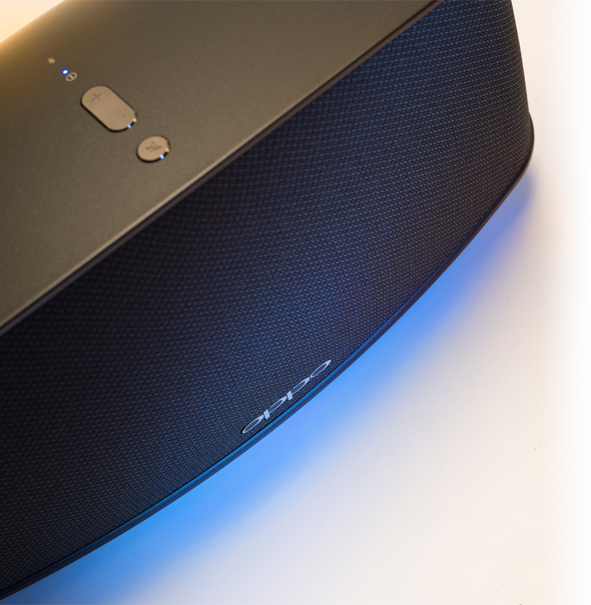 OPPO Digital Australia Sonica Wifi Speaker - Top Angled View