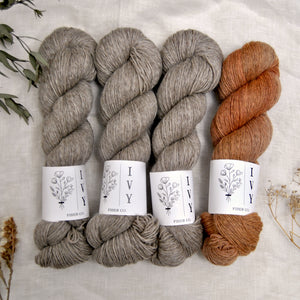 SOLVI Sweater kit - Stone Fox