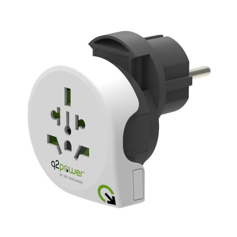 q2power QPLUX World 5in1 Reiseadapter