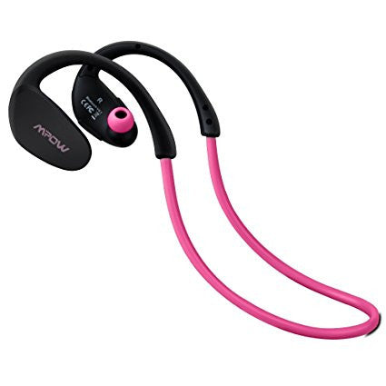 MPOW Cheetah Sports Bluetooth In Ear Kopfhörer pink - von SupplyRevolution