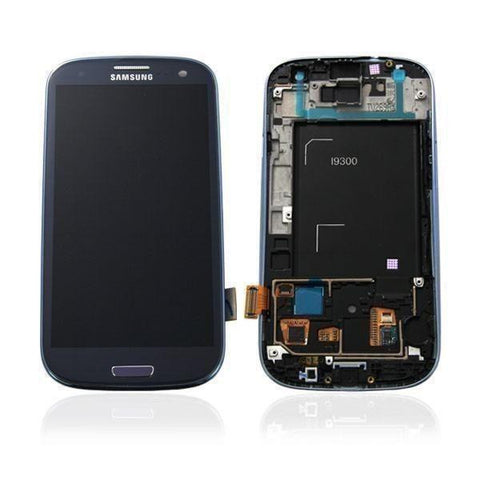 Samsung i9300 Galaxy S3 LCD Digitizer Display blau