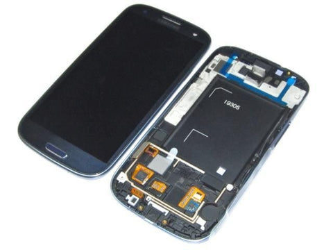 Samsung i9305 Galaxy S3 LCD Digitizer Display blau