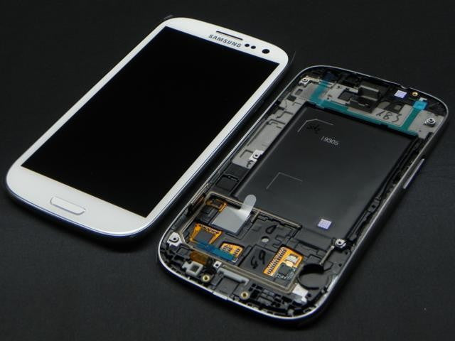 Samsung i9305 Galaxy S3 LCD Digitizer Display weiss - von SupplyRevolution