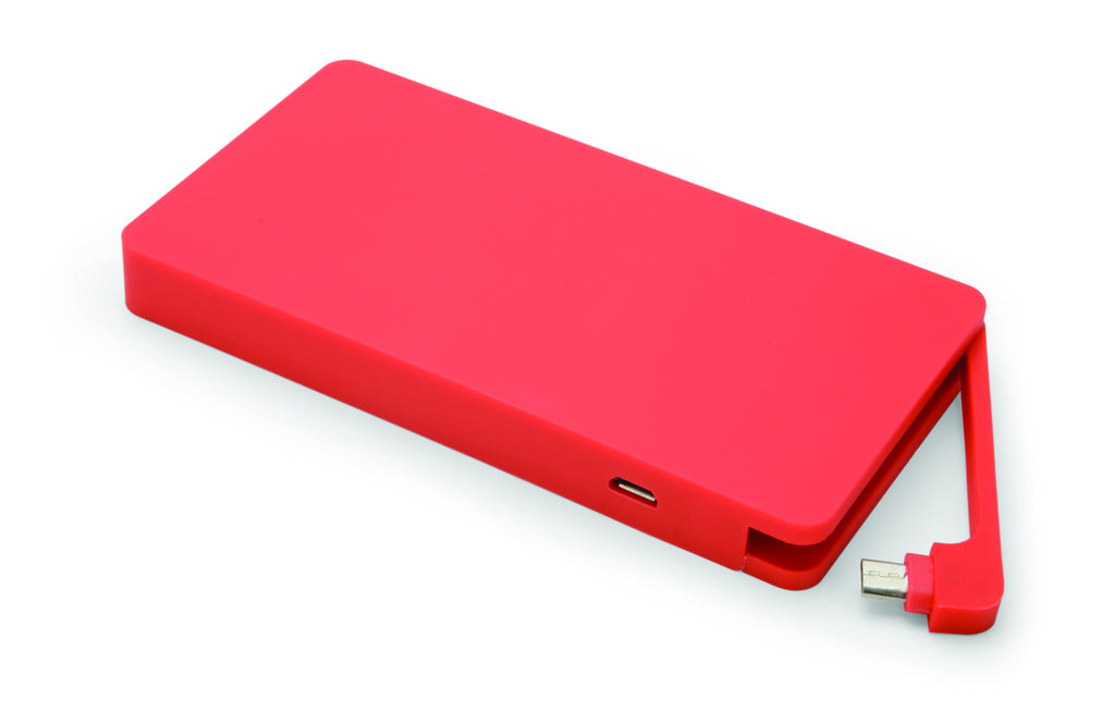 Yell BPR60 Quick Charge 2.0 Powerbank in Rot