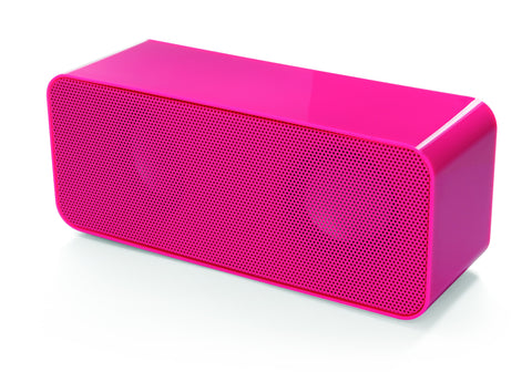 Yell BTS750 Bluetooth Lautsprecher in Pink