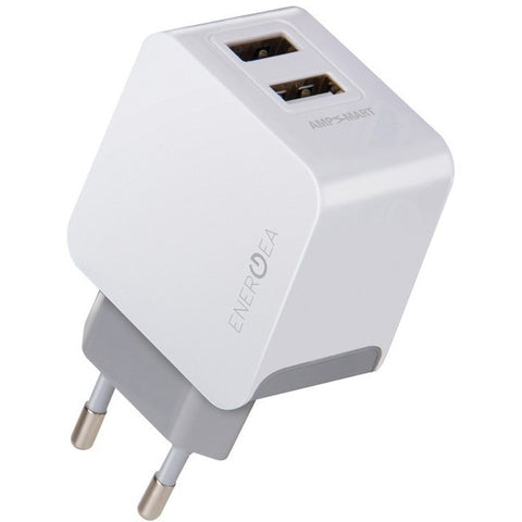 Energea AMPCharge 3.4, 2 USB Wall Charger Ladegerät, 5V/3.4A