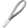Energea Magnetic, Micro USB magnetisches Loop Kabel, 17cm, grau - von SupplyRevolution