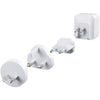 Energea TravelWorld 3.4, 2 USB Wall Charger Reise-Ladegerät, mit US/UK/EU/AU Adapter, 5V/3.4A - von SupplyRevolution