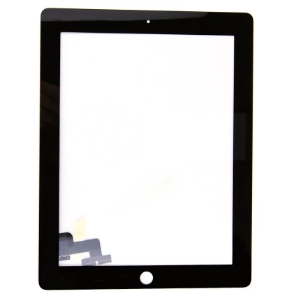 iPad 2G Touchscreen Digitizer Glas schwarz
