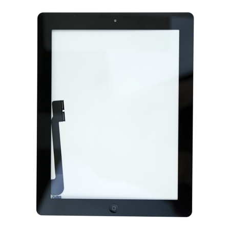 iPad 3G/4G Touchscreen Digitizer Glas schwarz