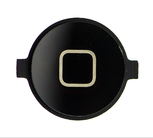 iPhone 4 Home Button Knopf schwarz - von SupplyRevolution