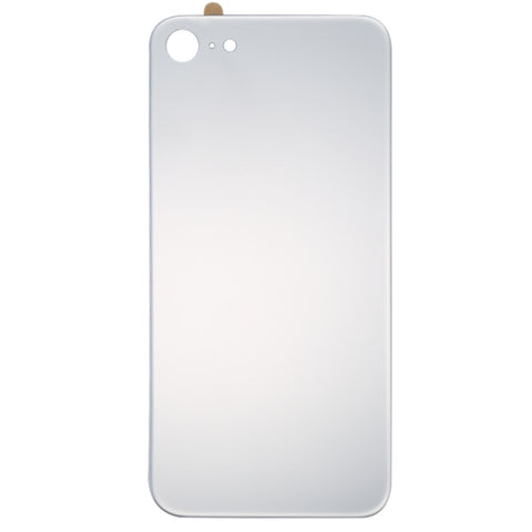 iPhone 8 Back Cover selbstklebend silber