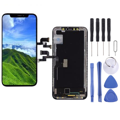 iPhone X LCD Digitizer Display original schwarz