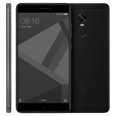 Xiaomi Redmi Note 4X, 4GB+64GB, Official Global ROM - Matte Black